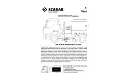 Scarab Merlin XP Hydrostatic Technical Specification