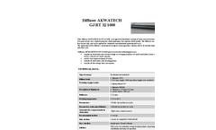 AKWATECH - Model GJ RT 32/1000 - Tube Diffusers Brochure