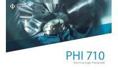 PHI - Model PHI 710 - Scanning Auger Nanoprobe Brochure