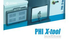 PHI - Model X-tool - Automated XPS Microprobe Brochure