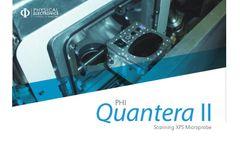 PHI Quantera - Model II - Scanning XPS Microprobe Brochure