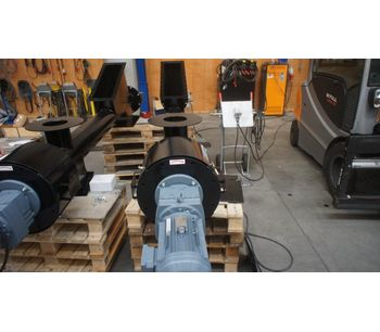 BEMA - Model 27436 - Complete Screw Conveyor Project for Ash Transport