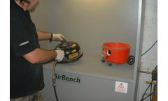Solutions for dust control in tool hire