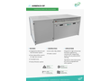 AirBench - Model RP - Downdraught Bench With Self-Cleaning Filters