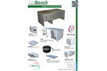 AirBench - Model WD - Downdraught Bench With Wet Filter - Brochure