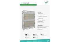 Vertex - Model VA - Modular Cross-Draught Extraction - Brochure