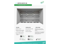 VertEx Booth - Model VA/VP - Walk-In Dust Extraction Booth