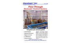 Aqualogic - Large Flow Through Wastewater Treatment System - Datasheet