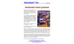 Aqualogic - Automatic Hoist Systems - Datasheet