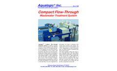 Aqualogic - Compact Flow Wastewater Treatment System - Datasheet