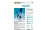 Geonica - Model 03002 - Wind Sentry Anemometer - Brochure