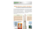 Geonica - Models STH-S331, ST-0031, SH-S300 and STS-0031 - Relative Humidity and Air Temperature Sensor - Brochure