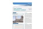 Gas Turbine Oxidation Catalyst