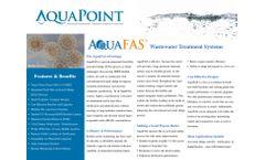 Aquapoint - Model AquaFAS - Wastewater Treatment Systems - Brochure