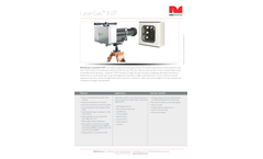 NEO Monitors LaserGas II OP Open Path Monitor for High Performance Gas Analyser Brochure