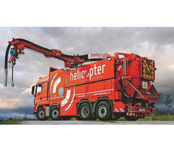 Helicopter - Model 360-6 Tandem - Sewer Cleaning Trucks
