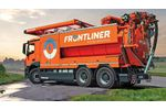 Frontliner - Model 200-6 - Sewer Cleaning Trucks for Liquid Waste Disposal