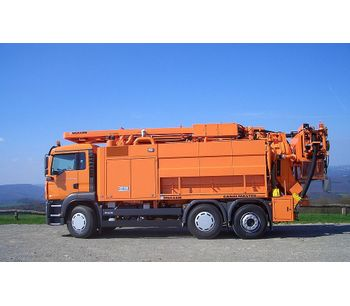 Canalmaster - Model WA - Professional Combined Suction and Jetting Vehicles with Water Recycling