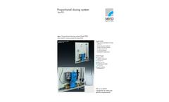 Data Sheet Proportional Dosing System