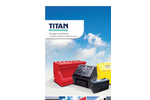 Titan - Storage Containers - Grit Bins, Bunkers & Maxi Bunkers Brochure