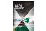 Oil Tank Product Selector Brochure