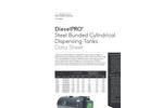 DieselPRO Steel Bunded Rectangular Dispensing Tanks - Datasheet