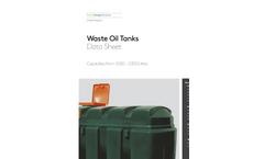 Kingspan - Waste Oil Wells - Brochure