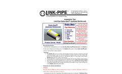 Jacketed Reinforced Hydro Seal Brochure