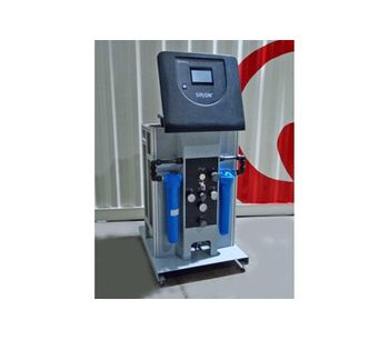 Sirion - Model Pro - Skid-Mounted Reverse Osmosis for Process Water