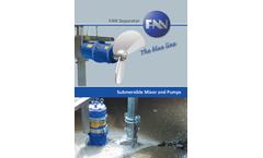 FAN - Model MSXH - Submersible Motor Mixer - Brochure