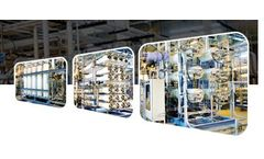 Huvis Water - Model MRM - Demineralization System