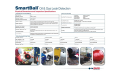 SmartBall - Leak Detection for Oil & Gas Pipelines Specifications