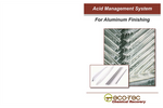 Acid Management System for Aluminum Finishing - Brochure