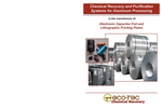 Chemical Recovery and Purification Systems for Aluminum Processing - Brochure