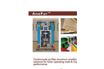 AnoPur - Acid Purification for Aluminum Anodizing - Brochure