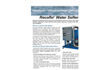 Recoflo - Water Softeners - Brochure