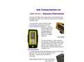 STS - Model Safe-6150AD - Simulated Survey Meter - Brochure