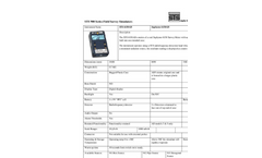 STS - Model 6150AD - Field Survey Simulators - Datasheet