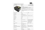 STS - Model Safe-Variable MiniSource - Simulated Radiation Source - Datasheet