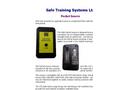 STS - Safe-PocketSource - Simulated Radiation Source - Datasheet