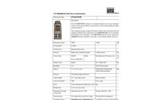 STS - Model Safe-FH40G Series - Radiation Field Simulator - Datasheet