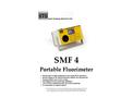 STS - Model SMF4 - Portable Fluorimeter - Technical Datasheet