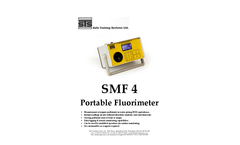 STS - Model SMF4 - Portable Fluorimeter - Brochure