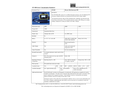 STS - Thermo Fisher - Model Mini 900 Series - Simulated Contamination Meter - Datasheet
