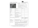 STS - Model 44A - Tubular Contamination Probe - Datasheet