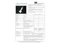 STS - Model DP2/AP2 - Square End Contamination Probe - Brochure