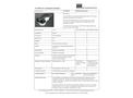STS - Model HP210 - Shielded Pancake Probe - Datasheet
