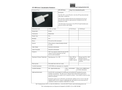 STS - Model AP3 - Large Area Contamination Probe - Brochure
