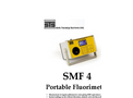 STS - Model SMF 4 - Portable Fluorimeter for Organic Pollution Monitoring - Brochure