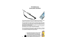 STS - Model FH40G Series - Survey Meter Simulators - Brochure